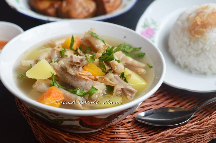 Diah Didi's Kitchen: Sop Ceker