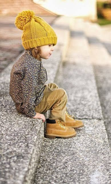 I shall dress my child in timberlands