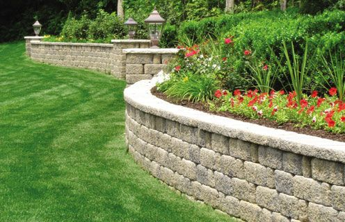 keystone retaining walls | Hardscapes