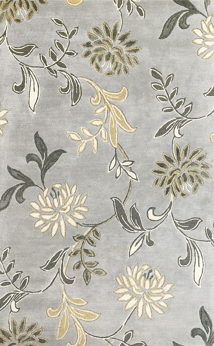 Take A Look At This Silver Florence Floral Rug By KAS Rugs On Today!
