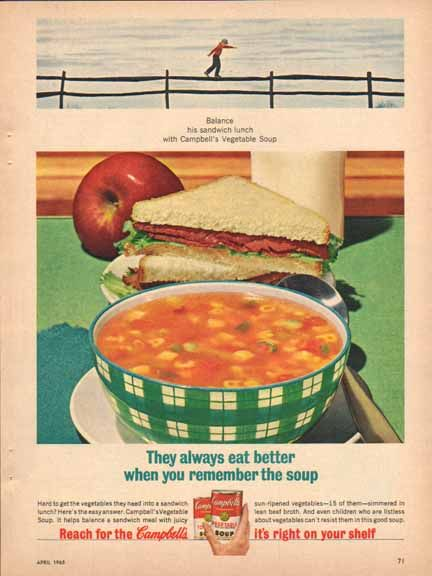 Campbell's Soup (1965).