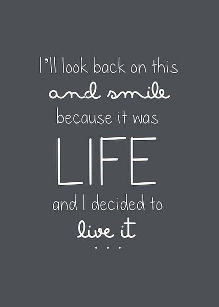 live it.