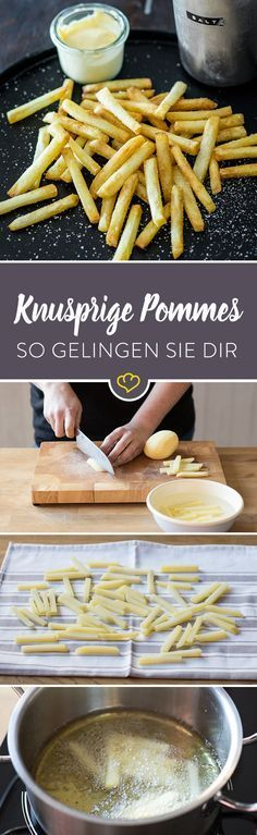 Du willst dir zu Hause richtig gute Pommes machen? Kein Problem. Mit dieser Methode gelingen sie dir besser als in der Imbissbude.