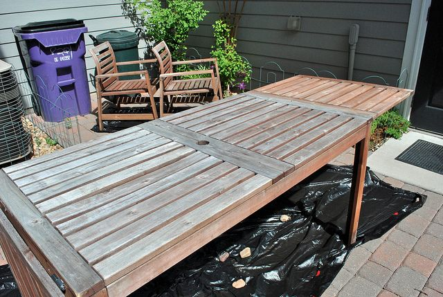 ikea outdoor furniture reviews plastic update on how ikea applaro furniture held up after years and tutorial restaining weather proofing ikea hack pinterest ikea patio