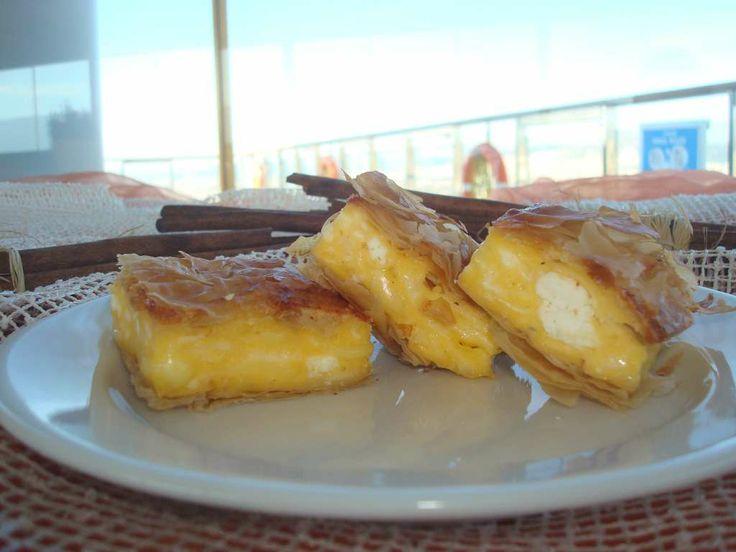 Greek Breakfast- Traditional Greek Cheese Pie