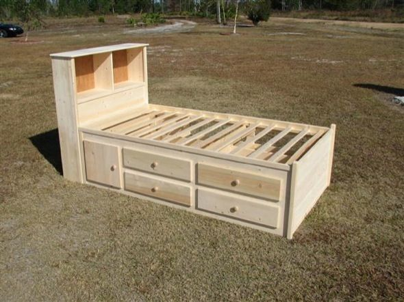 captains bed plans | Twin size Captains bed is 39 inches wide and 76 inches  long - Best 25+ Captains Bed Ideas On Pinterest Diy Storage Bed, Twin