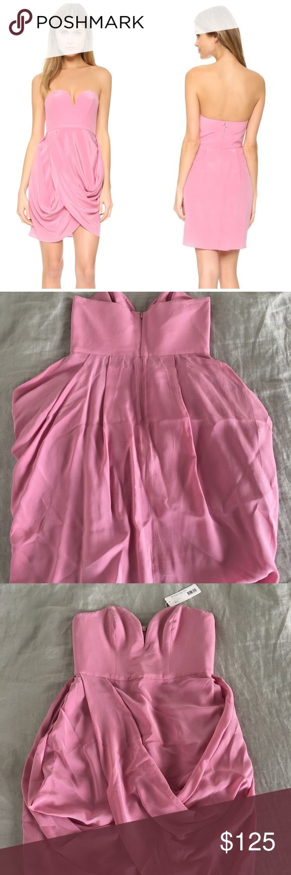 ✨NWT Zimmermann Silk Draped Dress New with tags! Bought from Shopbop at full price a while ago and never worn. Only imperfection is some hanger marks that can be smoothed out with a steam. Zimmermann Dresses Mini