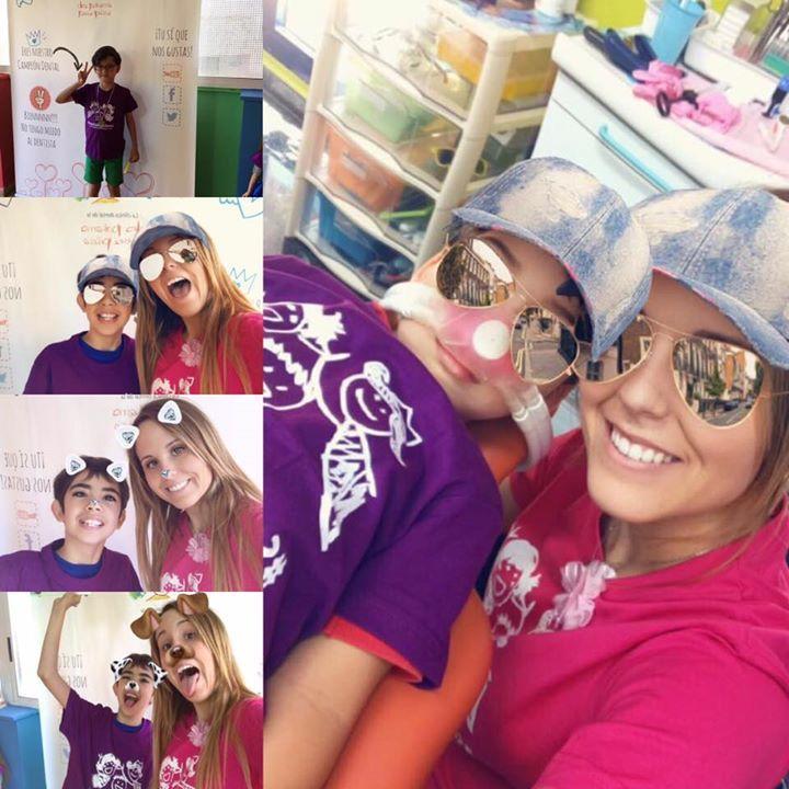 Martes!!!!! Y no paramos con las fotos venir a nuestra clínica = diversión! No tenemos más miedo ir al dentista! Con la Dra Paloma y su equipo ir al Dentista es fenomenal!!!!!! Siiiiii uiiiiiiii!!!!!!!  Camisetas de la Dra Paloma  este verano!!!!  Somos una clínica dental infantil especializada en embarazadas bebes niños adolescentes y pacientes especiales.  http://ift.tt/23sz3Tx Para solicitar cita online http://ift.tt/1MrTCcN Para solicitar cita por tel. 963 71 80 03