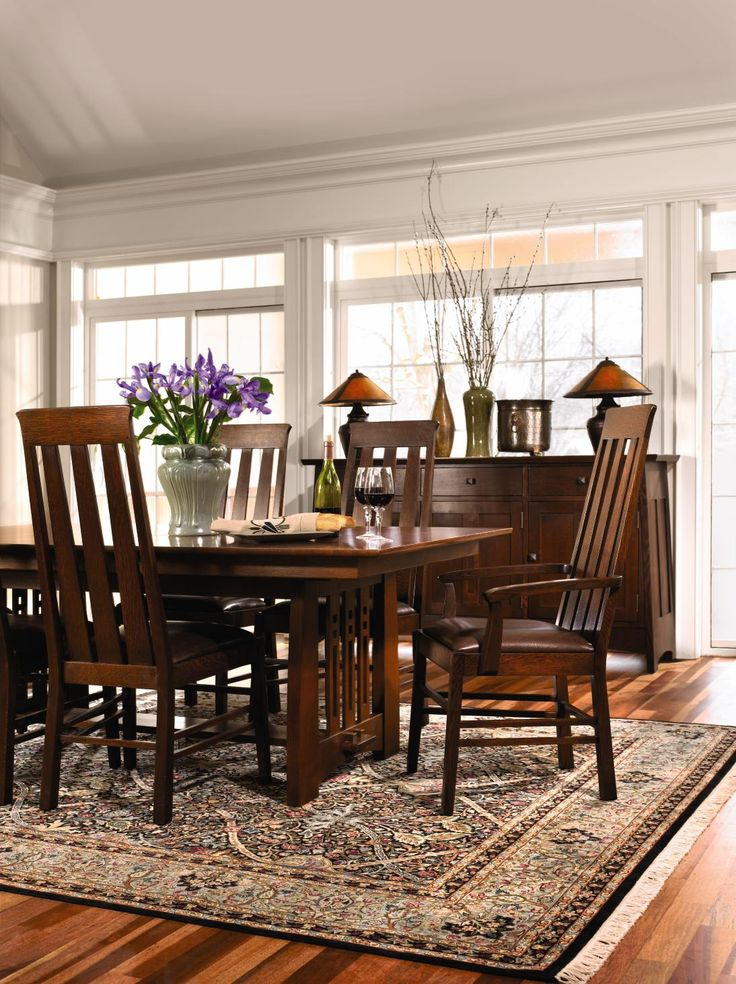 #Stickley Highlands Collection Style Blends Traditional Arts Crafts With A  Modern Twist.