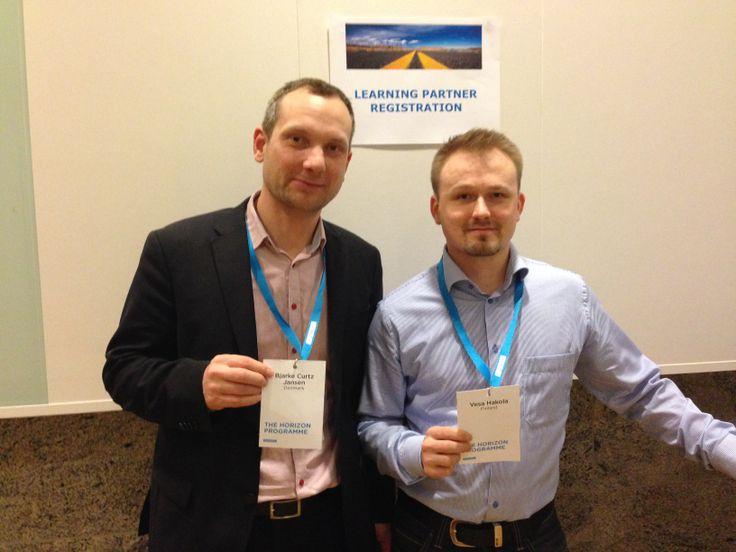 Learning partners: Bjarke & Vesa