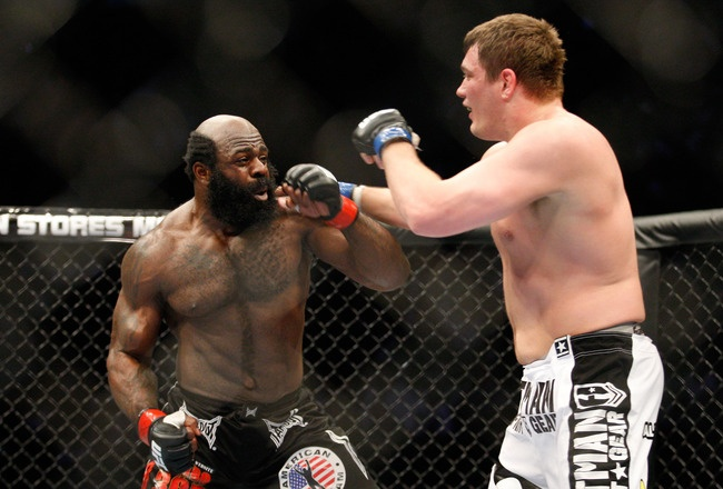 Kimbo Slice: Good stand up fighter. But needs to work on his ground attack