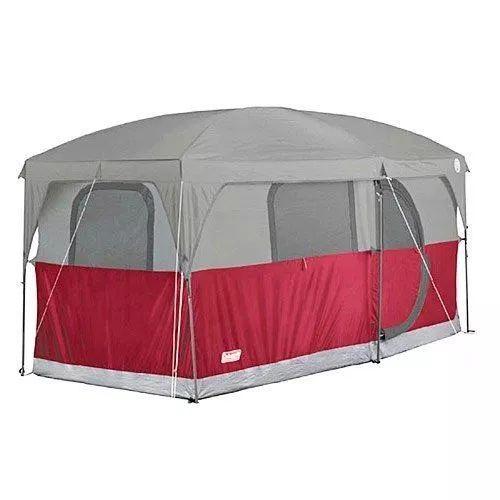 coleman hampton 6 persona familia cabina carpa de camping