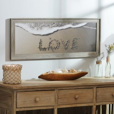 Beach Love Framed Art Print | Kirklands
