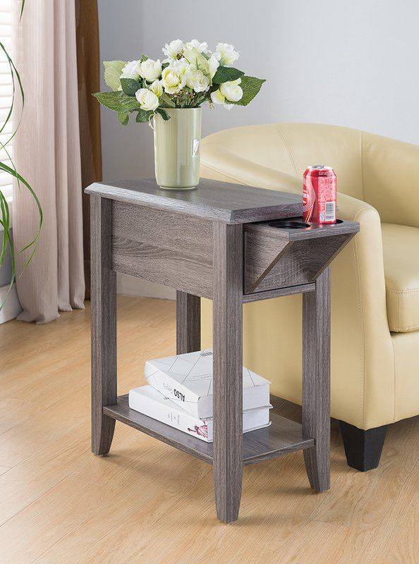 Cuevas End Table Side Table With Storage Chair Side Table Sofa Side Table