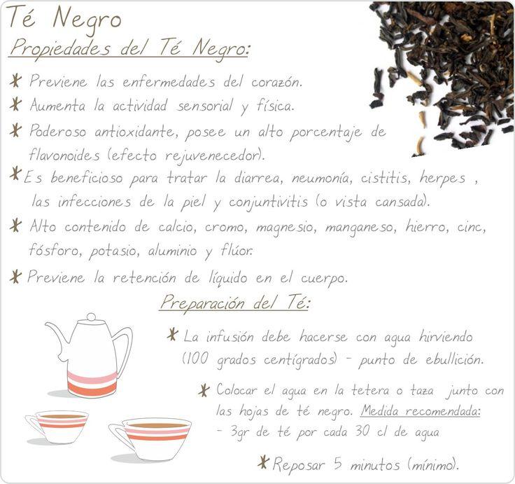 te-negro Té Negro y sus propiedades!!!