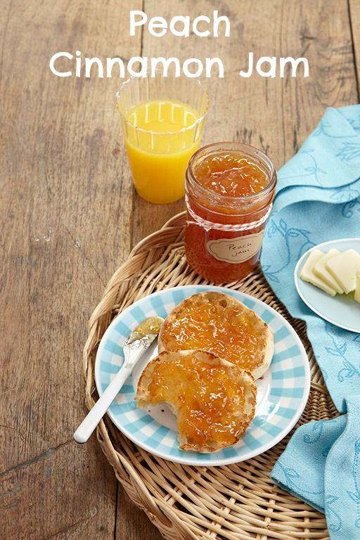 Peach Cinnamon Jam recipe