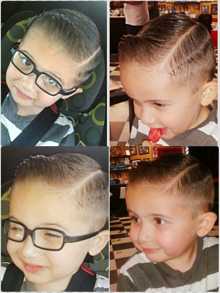 Pompadour Haircut Toddler : Toddler pompadour haircut and style my son branson