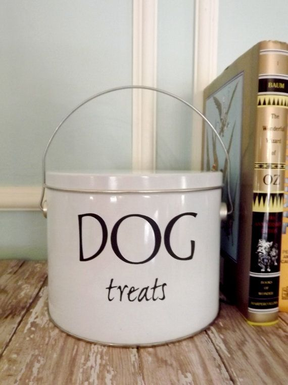 Dog And Cat Treat Containers