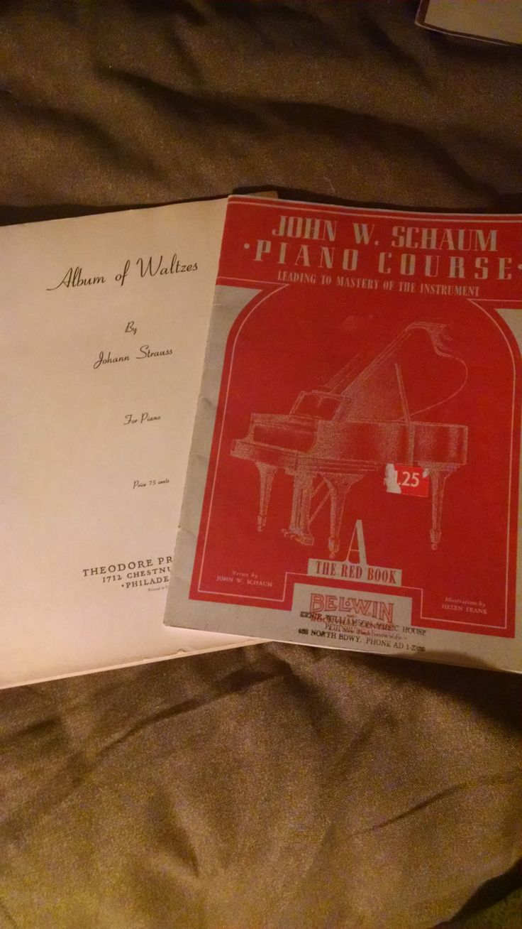 1940s music books for piano