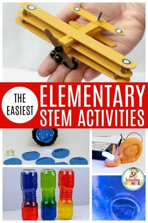 Make STEM activities fun with these easy STEM activities for elementary! These S…