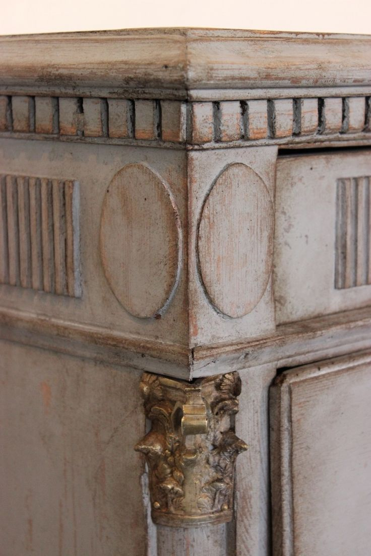18TH CENTURY DANISH GUSTAVIAN CHEST OF DRAWERS in from Georgia Lacey