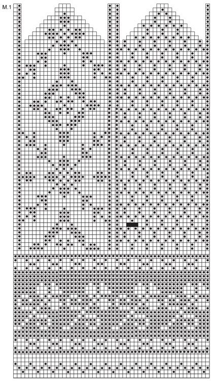 """DROPS 116-6 - DROPS mittens with pattern in """"Karisma"""". - Free pattern by DROPS Design"""