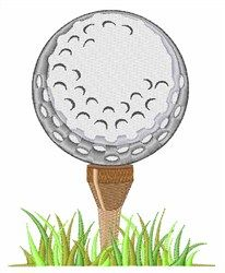 Golf Ball embroidery design from embroiderydesigns.com