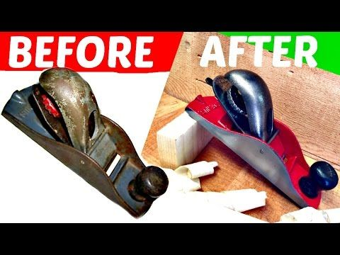 Restoring Old Stanley Wood Planes - YouTube