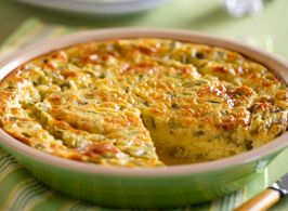 Sunday morning breakfast blues? We've got you covered with this delicious crustless quiche using Horizon!