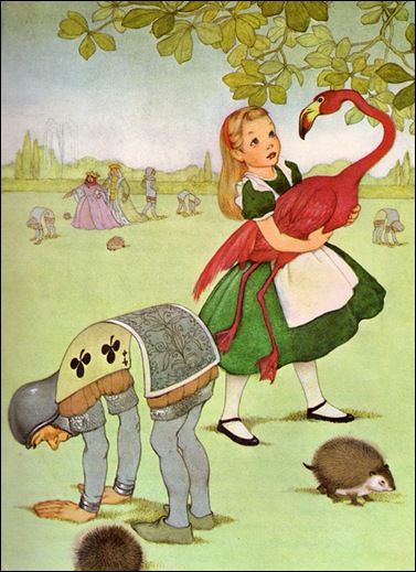 Alice in Wonderland    written by Lewis Carroll,       illustrated by Marjorie Torrey (1955)