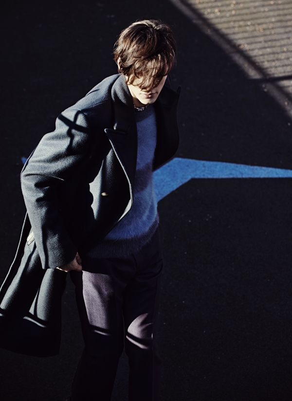 "EDITORIAL Off Black Magazine ""The Shadow Line"" Feat. Timur Simakov by Johanna Nyholm"