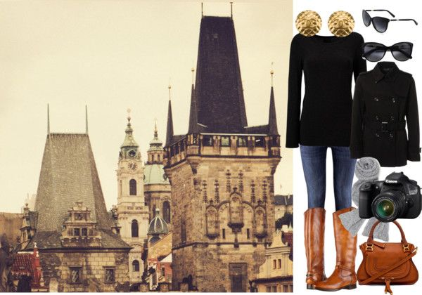 """""""winter in prague"""" by meganotravels on Polyvore"""