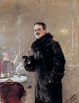 Christian Krohg (1852-1925): The Painter Gerhard Munthe, 1885