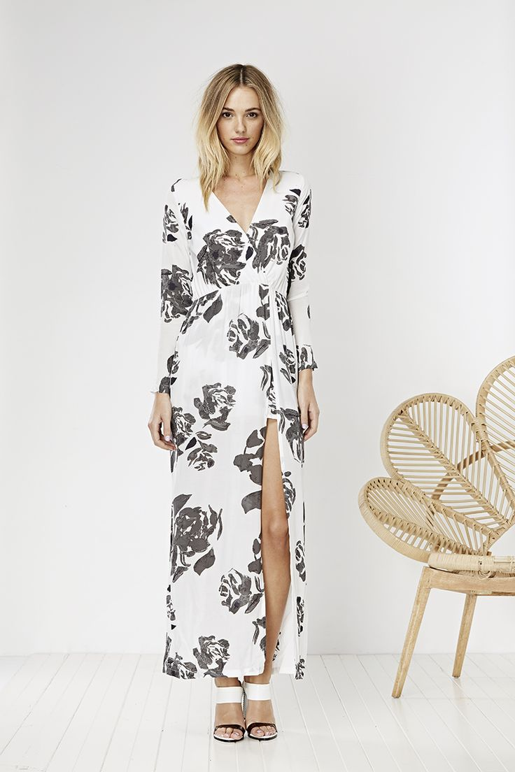 May the Label Soulmate Dress Rose Print