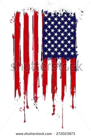 american flag with some grunge effects and linesvertical composition vector american flag in grunge