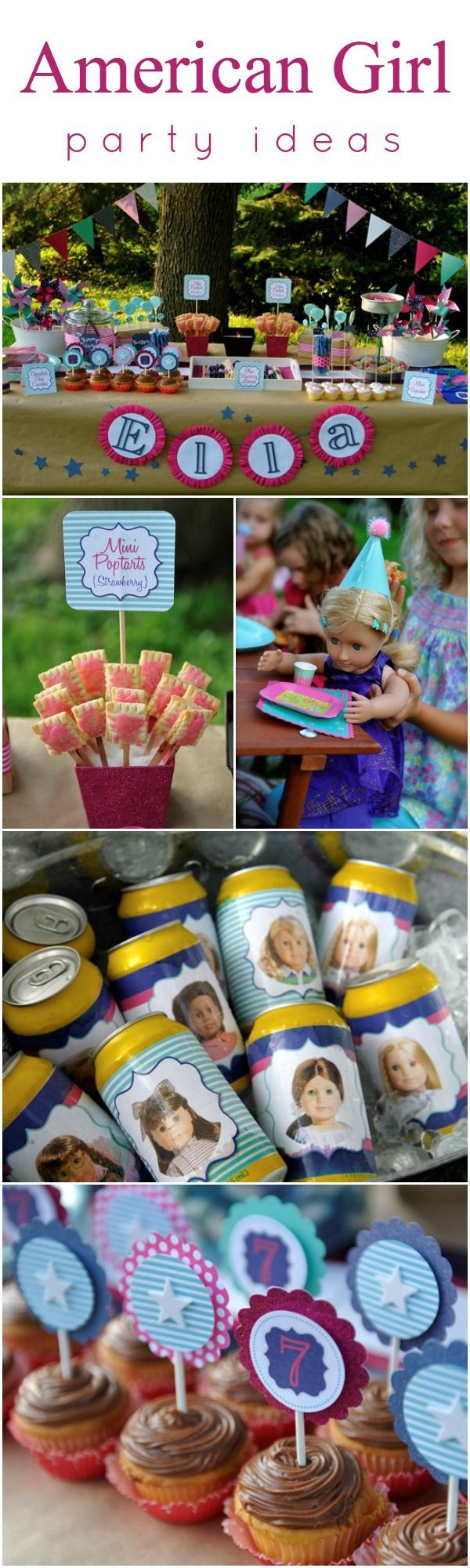 American Girl themed party ideas! <3 www.weheartparties.com
