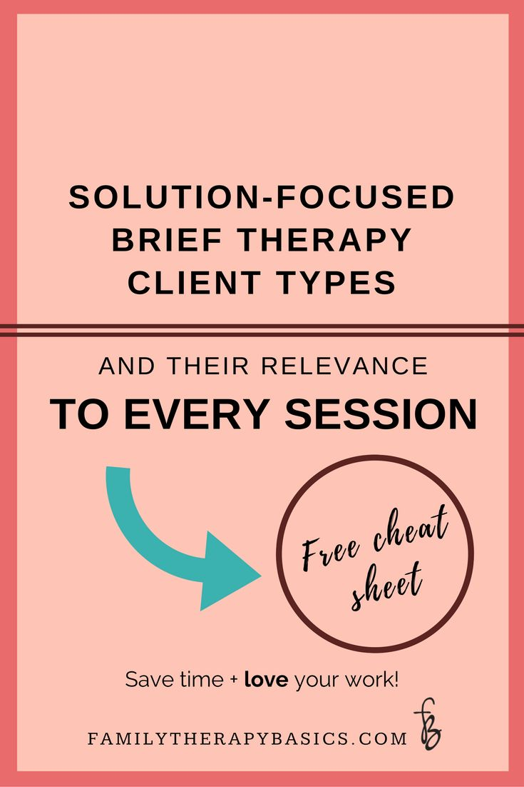 Remember the three client relationship types from Solution-Focused Brief Therapy? This is a great review with practical tips for using the types in therapy with clients.