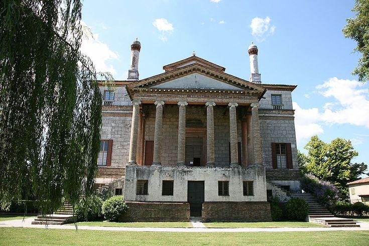 Andrea Palladio - Villa Foscari (detta La Malcontenta) - Facciata