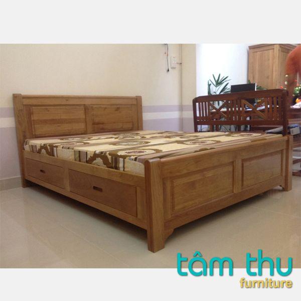 Mẫu giường ngủ gỗ sồi cao cấp cho nhà đẹp với phong cách hiện đại được thiết kế theo không gian phòng ngủ riêng tư đảm bảo tính khoa học, sự hài hòa và thuận tiện khi sử dụng. Với mỗi căn phòng được xây dựng với kiến trúc, diện tích khác nhau nên lựa chọn mẫu giưởng ngủ cũng dựa trên nhiều yếu tố khác nhau.