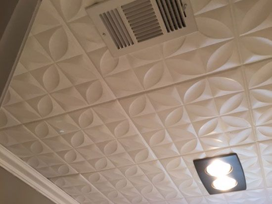 Decorative Bathroom Ceiling Tiles : Images about bathroom ideas on cape code