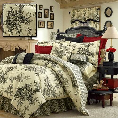 Toile Bedding - Shop French Toile Bedding Sets, The Home Decorating Company Offers The Best Toile De Jouy Bed Sets