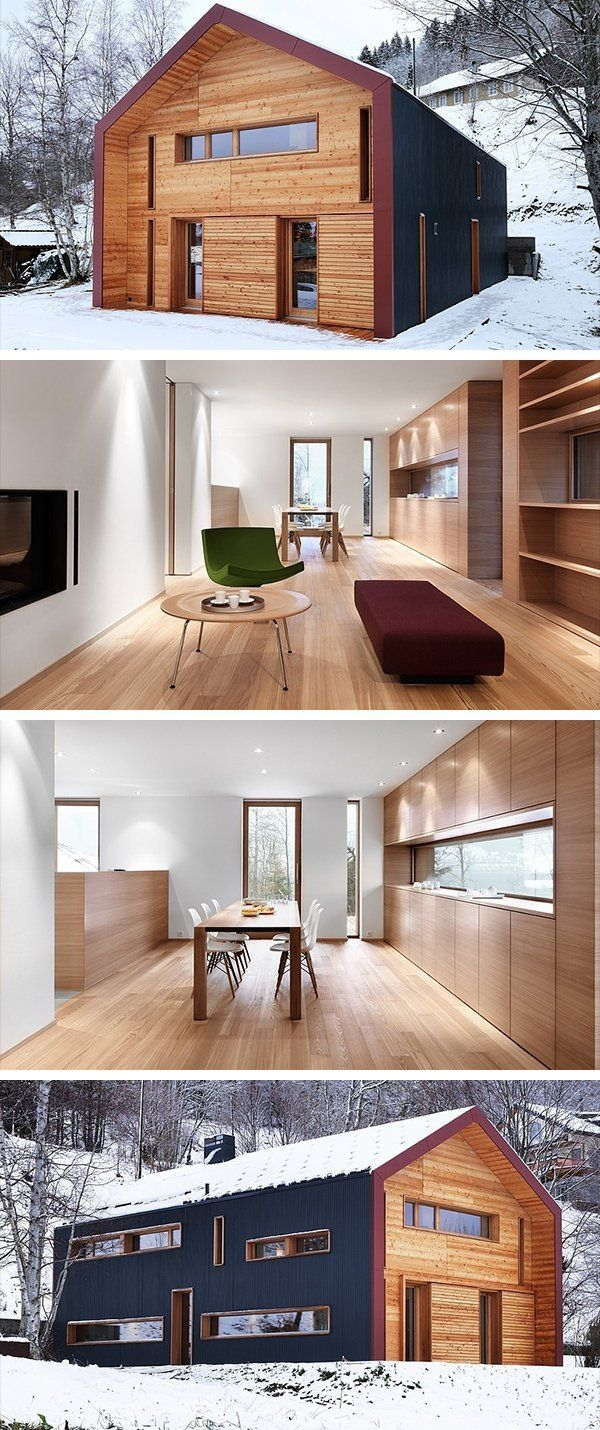 166 best Haus images on Pinterest | Modern homes, Building homes and ...
