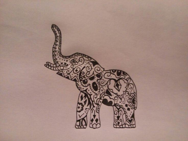 Tribal Elephant Tattoos on Pinterest | Elephant Tattoos Baby Elephant ...