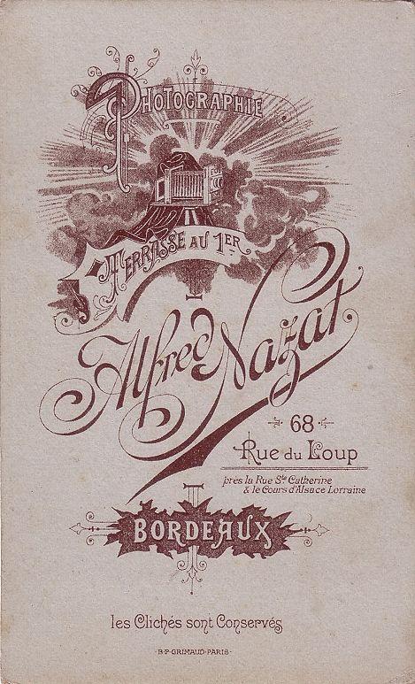 Alfred NAZAT - Bordeaux, Gironde