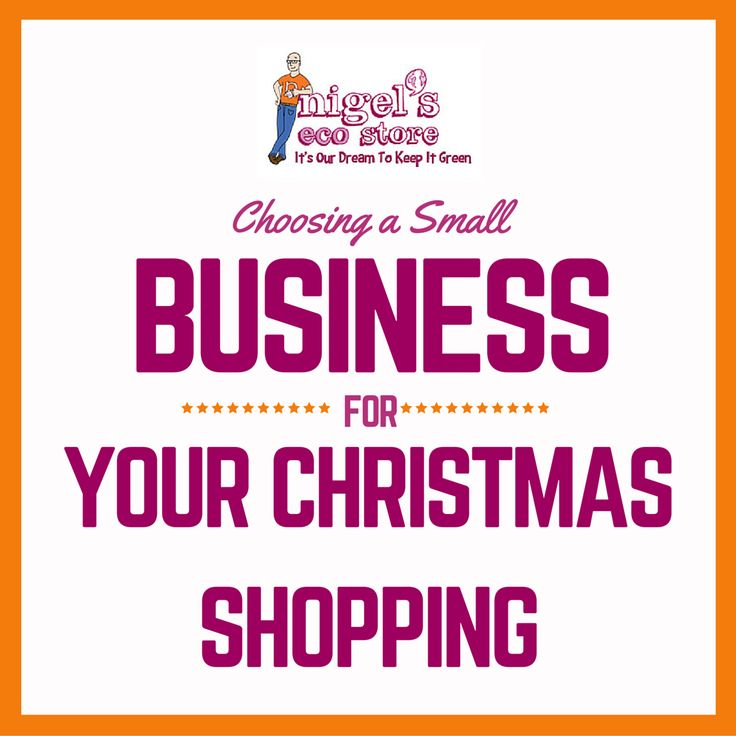 We're a small business, as you probably know, which means that each and every customer is important to us. Check out why you should be choosing small businesses this Christmas.