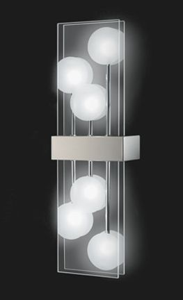 Beautiful Applique lampes design Grossmann club Nickel mat u Appliques design