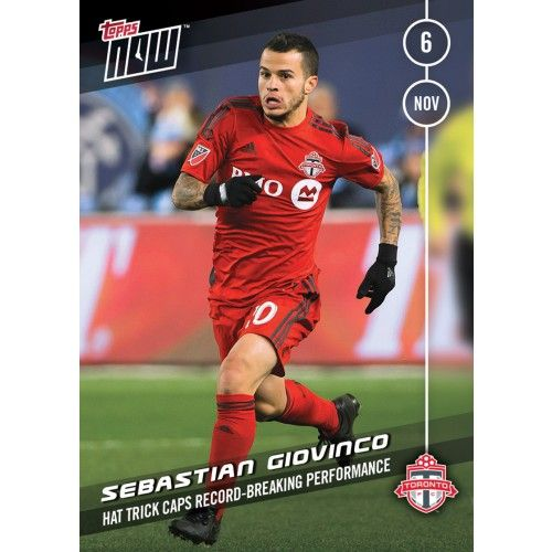Sebastian Giovinco - Topps NOW Card 50 - Print Run QTY: 35 Cards
