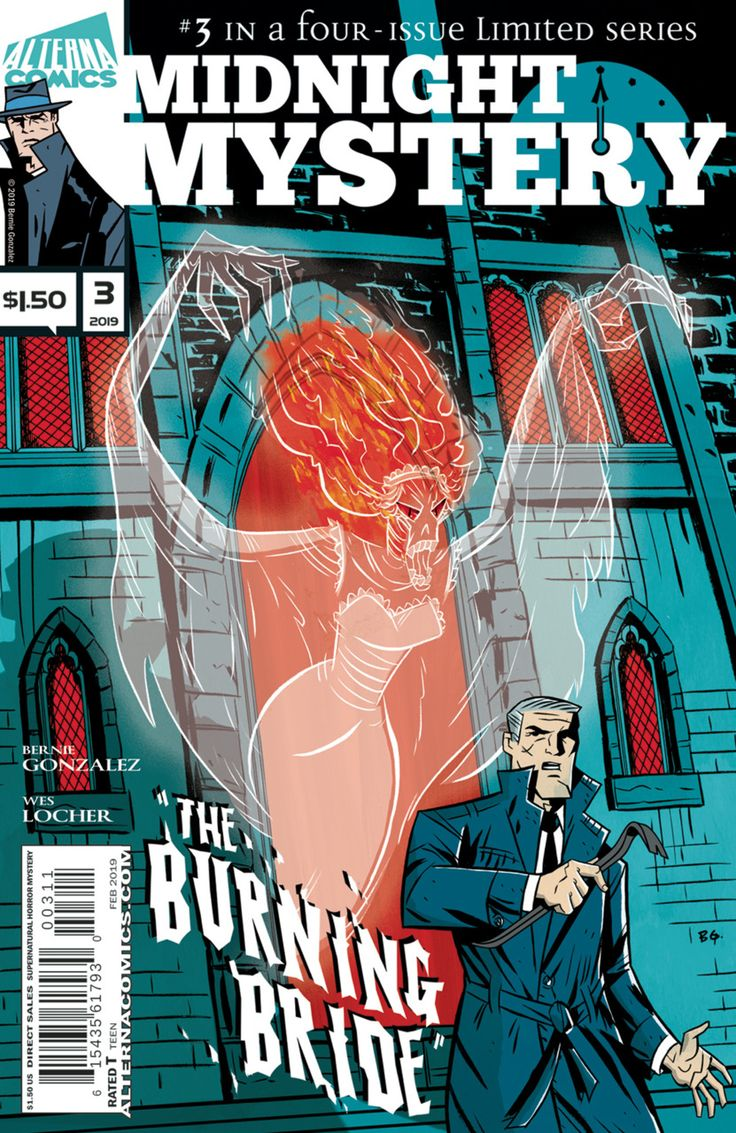 Midnight Mystery 3 released by Alterna Comics on February