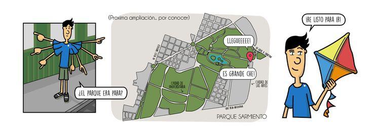 Como perderse...: Parque Sarmiento