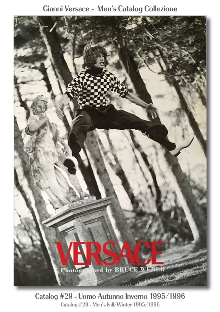Gianni Versace Catalogue #29, Collezione Uomo Autunno Inverno 1995 / 1996. Men's Fall Winter Catalog 95 / 96.